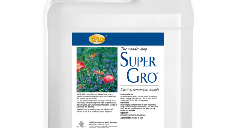 Super Gro ( The Wonder Drop )