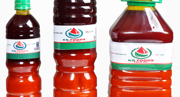 KR FOODS PALM OIL